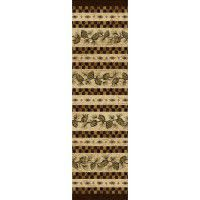 Folk Dance Pine Cone Runner
