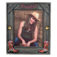 Cowgirl Picture Frame-Western 8 x 10