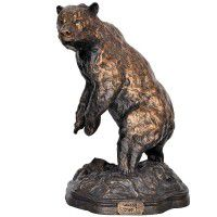 The Challenge Bear Sculpture