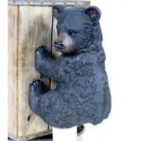 "Bear Cub Toilet Paper Holder 14.5""L"