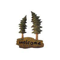 Welcome Pine Tree Wall Art