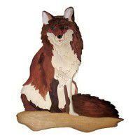 """Coyote Wood Wall Art 16"""" X 13"""""""