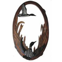 Decorative Loon Mirror