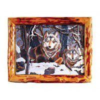 Winter Wolves Wall Art