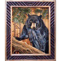 Bear in Tree Wall Art