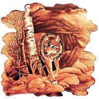 Wolf Wall Art 24 x 24