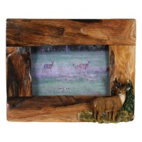Deer Firwood Picture Frame 4 x 6
