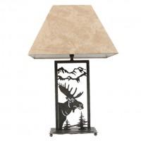 """21.5"""" Moose Lamp"""