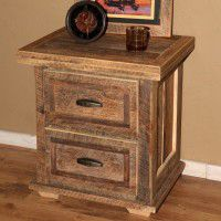 Barnwood Nightstands