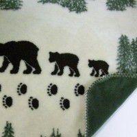 Denali Pearl Bear Fleece Throw