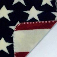 Denali Stars & Stripes Fleece Throw