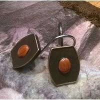 Faux Leather Gem Stone Western Shower Hooks