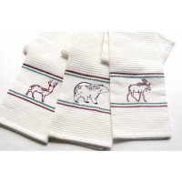 Wildlife Waffle Kitchen Towel