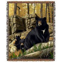 Den Mother Bear Afghan