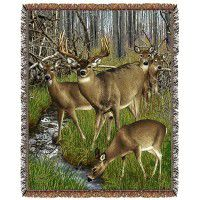 Whitetail Deer Harem Afghan