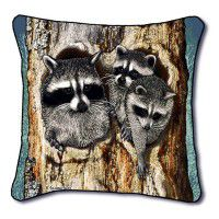 Full House Raccoon Pillow