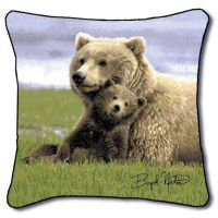 Boyd Norton Bear Pillow