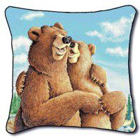 Bear Hugs Pillow