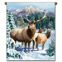 Elk Wall Hanging