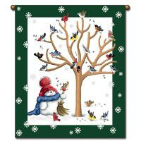 Sing for Spring Snowman Wall Hanging