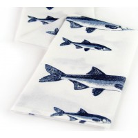 Fishing Kitchen Towel