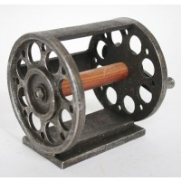 Antique Fishing Reel Wall Mount Toilet Paper Holder