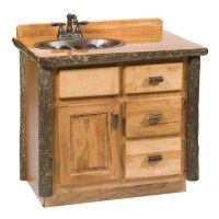 Hickory Vanity-3 Foot