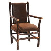 Hickory High Back Spoke Back Side Chair