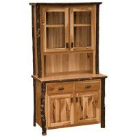 Hickory Buffet & Hutch-48 Inch