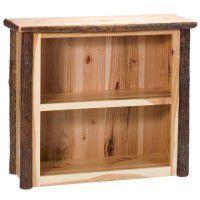 Small Hickory Bookshelf