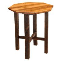 Barn Wood Octagon Pub Table