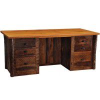 Barn Wood Executive Desk