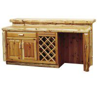 Cedar Log Bar