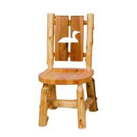 Log Cutout Side Chair