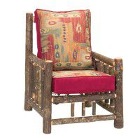 Hickory Lounge Chair and Ottoman