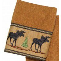 Forestry Moose Bath Towels