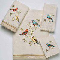 Gilded Bird Towel Set -3Pcs
