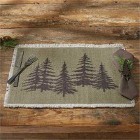Hemlock Table Runner and Placemats