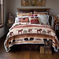 Hinterland Plush Comforter Set -5pcs