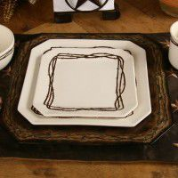 Barbwire Dinnerware - 16 pcs Service for 4 - Discontinued