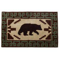 Bear Kitchen and Bath Rug
