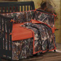 Oak Camo Crib Set