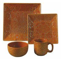 Savannah Dinnerware Set-Mustard