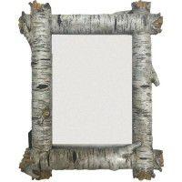 Birch Log Photo Frame