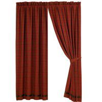 Cascade Lodge Plaid Drapery Panel