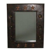 Lardeo Embroidered Star Mirror