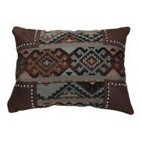 Navajo Scalloped Chenille Pillow