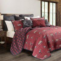 Woodland Plaid Quilt Set