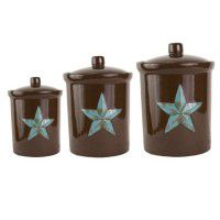 Western Star Canister Set