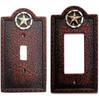 Circle Star Switch Plates